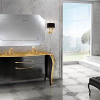 Mobile Belvedere versione nero lucido
