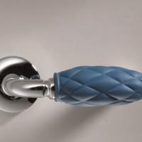 cromato rombi blu – maniglia coloramica